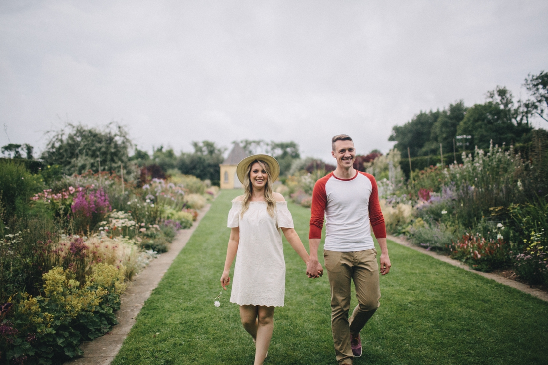 pre wedding photosession at Ballymaloe cookery school