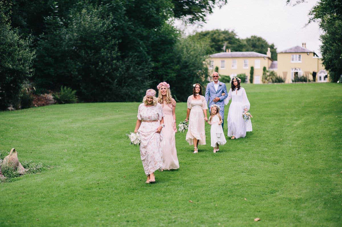 Bohemian Wedding - Ballinacurra House 46