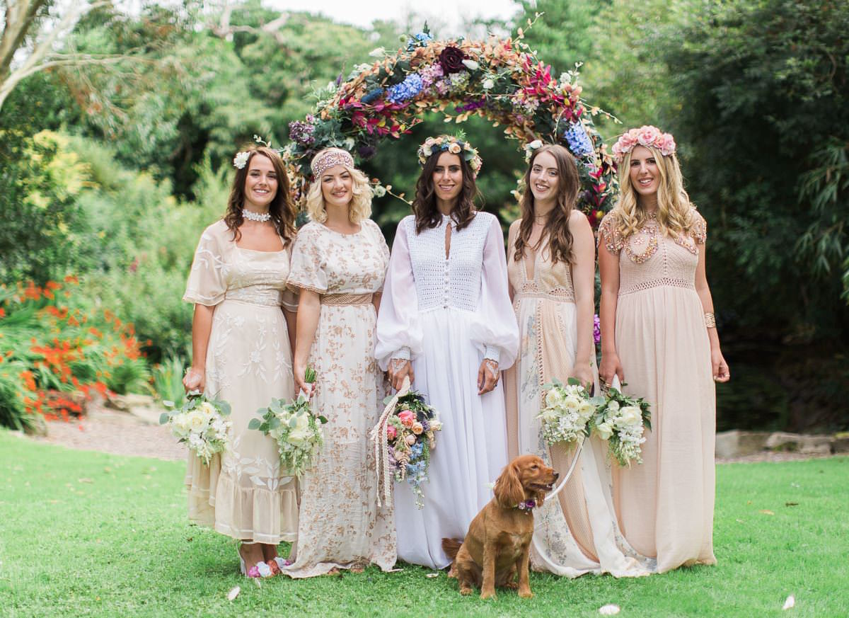 Bohemian Wedding - Ballinacurra House 67