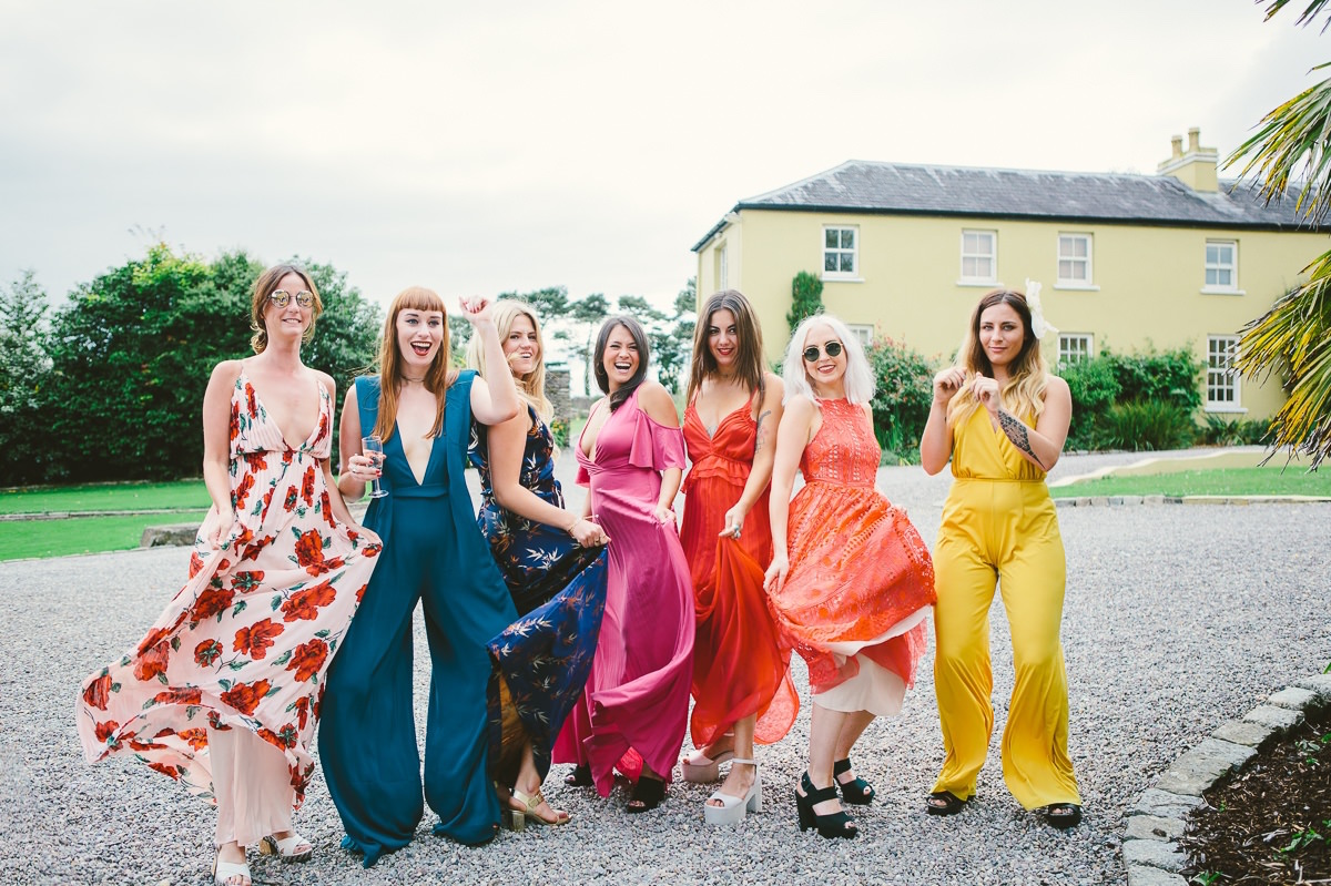 Bohemian Wedding - Ballinacurra House 76