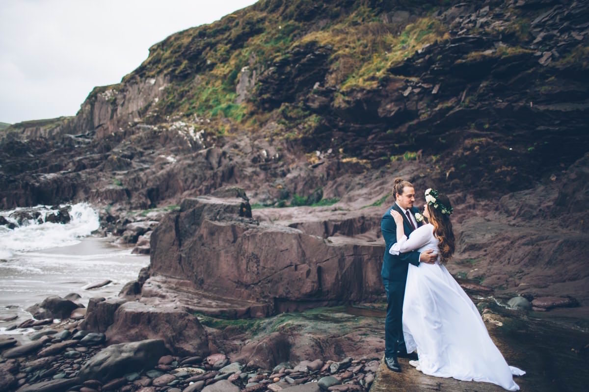 Ashton & Jake - Dingle Elopement 30