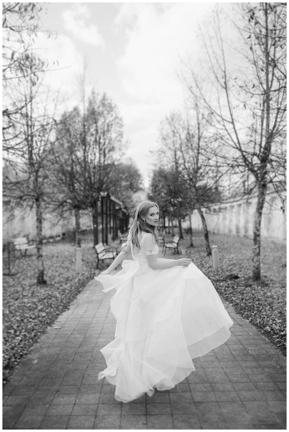 """She Walks in Beauty""  Bridal editorial- Lithuania 5"