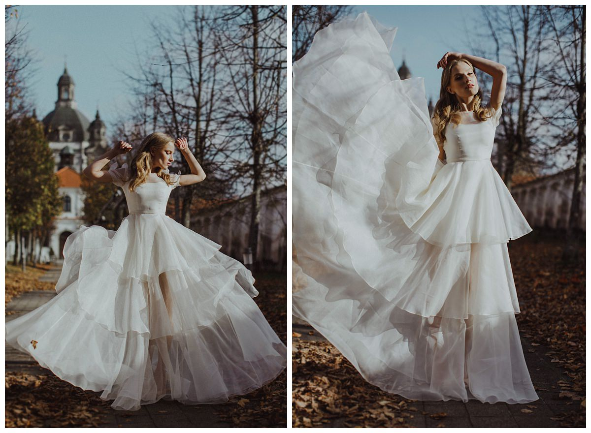 """She Walks in Beauty""  Bridal editorial- Lithuania 2"
