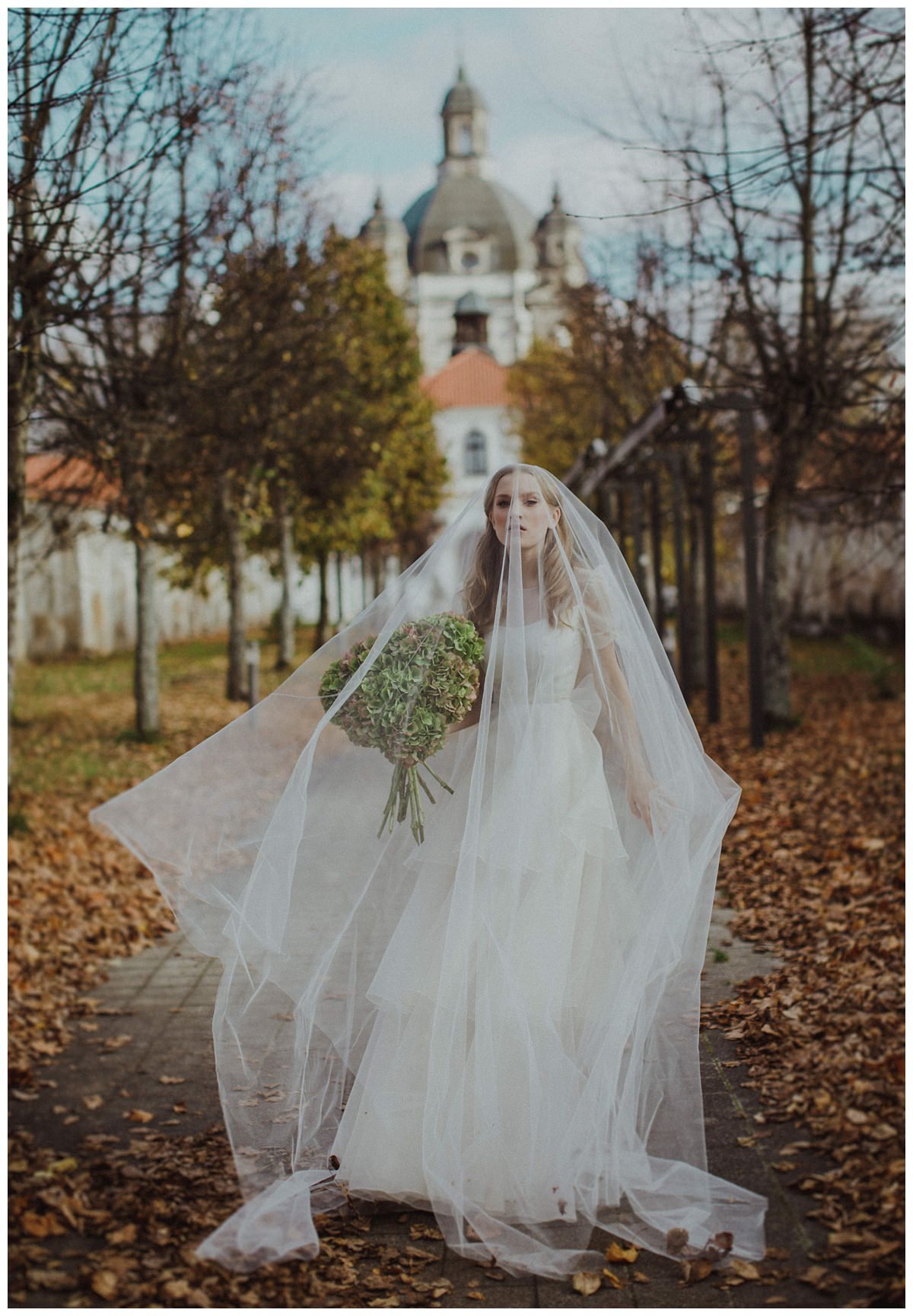 """She Walks in Beauty""  Bridal editorial- Lithuania 1"