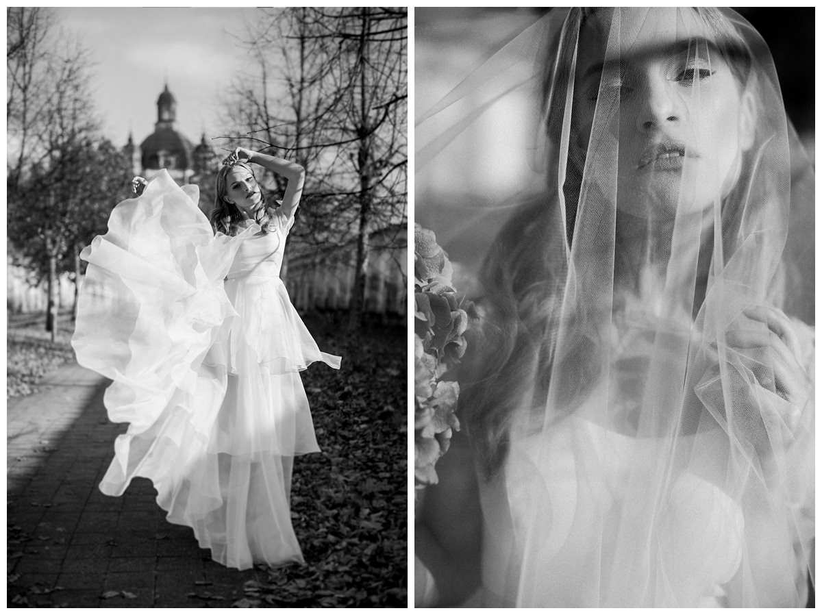 """She Walks in Beauty""  Bridal editorial- Lithuania 6"