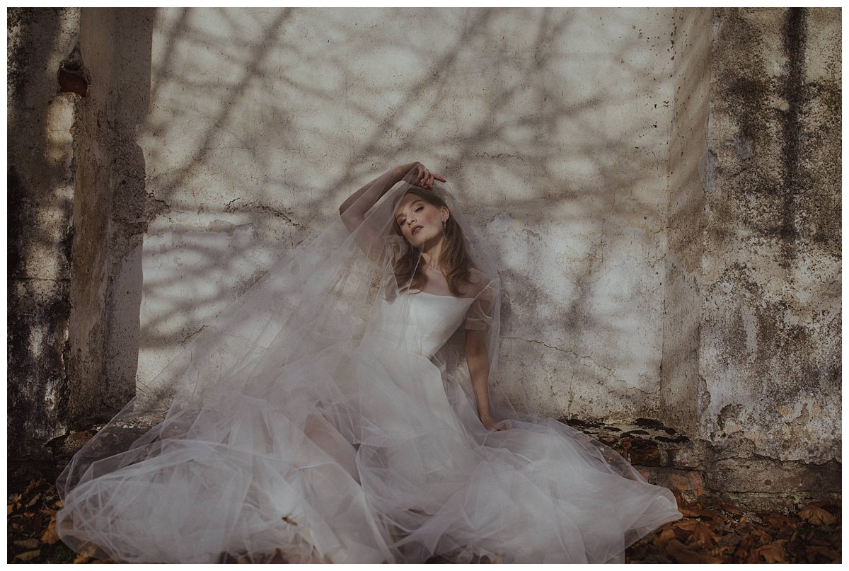 """She Walks in Beauty""  Bridal editorial- Lithuania 4"