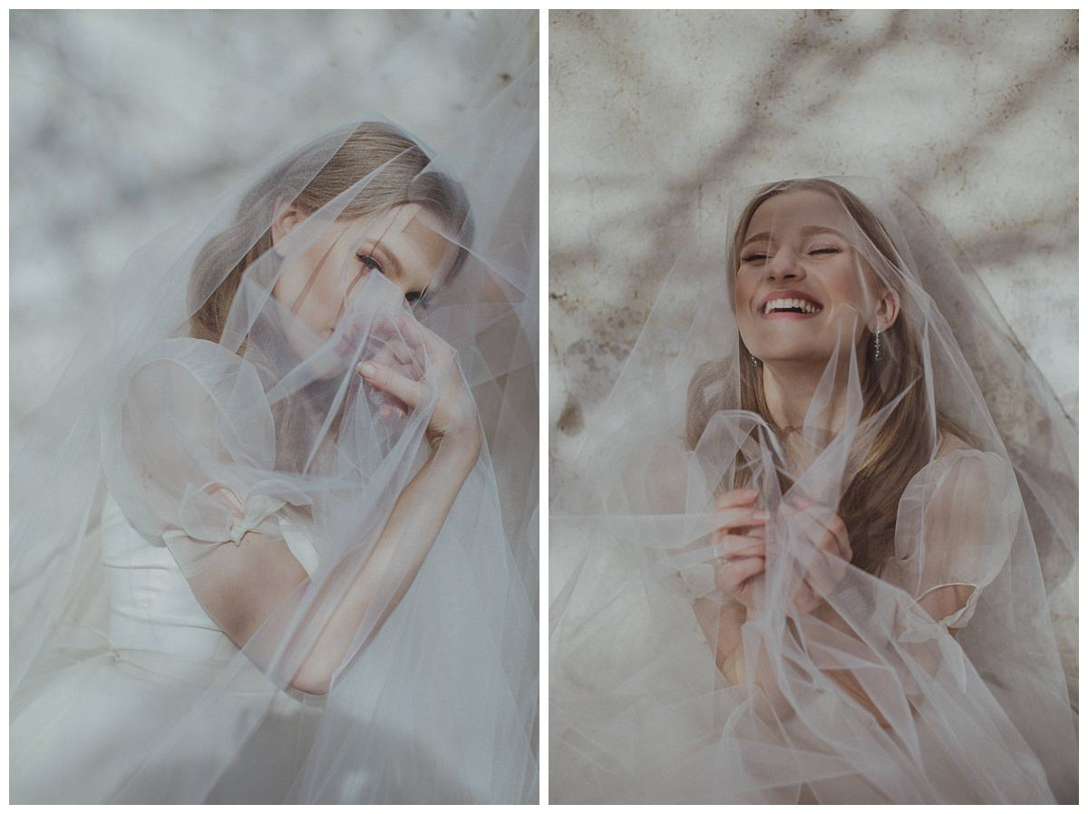 """She Walks in Beauty""  Bridal editorial- Lithuania 3"