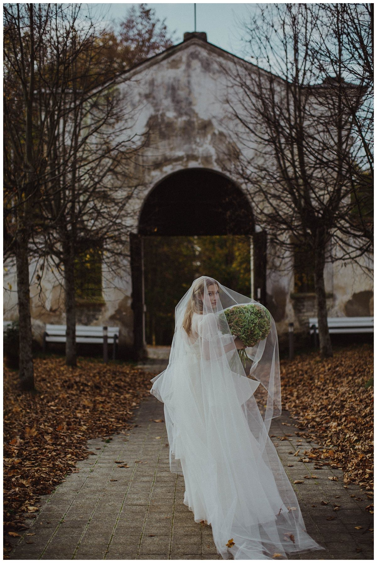 """She Walks in Beauty""  Bridal editorial- Lithuania 7"