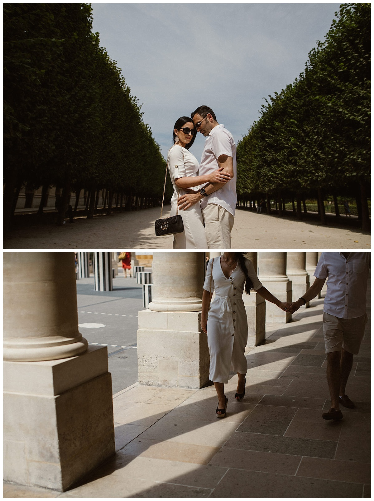 Romantic Parisian Adventure/ anniversary photo session 42