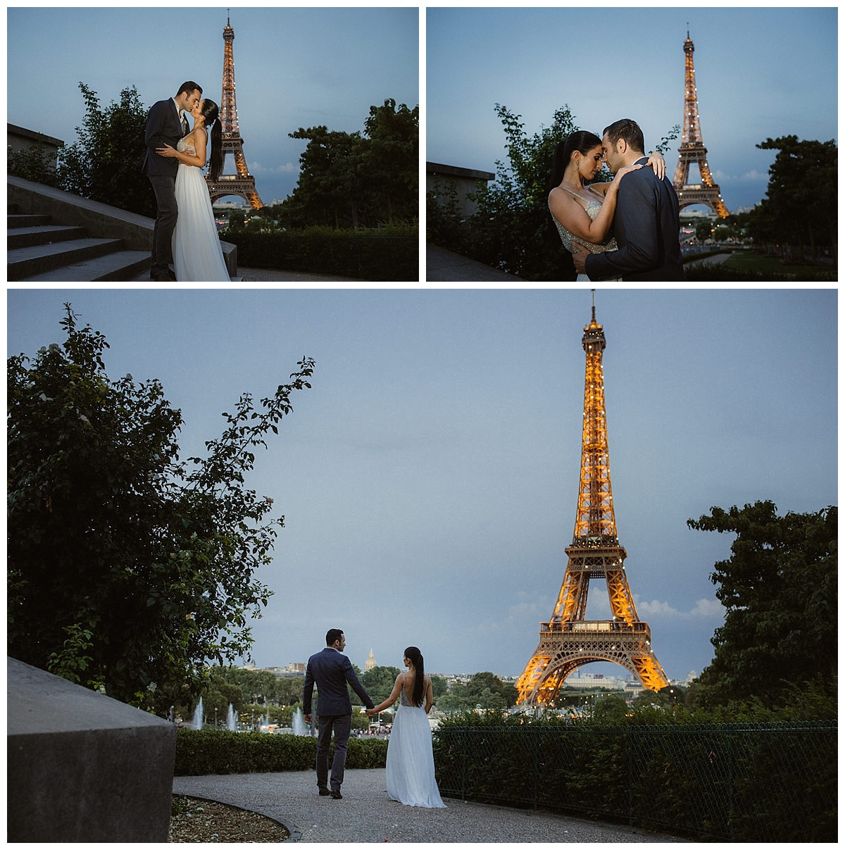 Romantic Parisian Adventure/ anniversary photo session 55