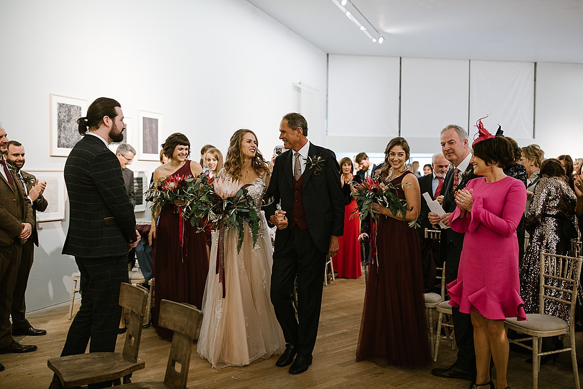 Glucksman gallery wedding-Cork 63