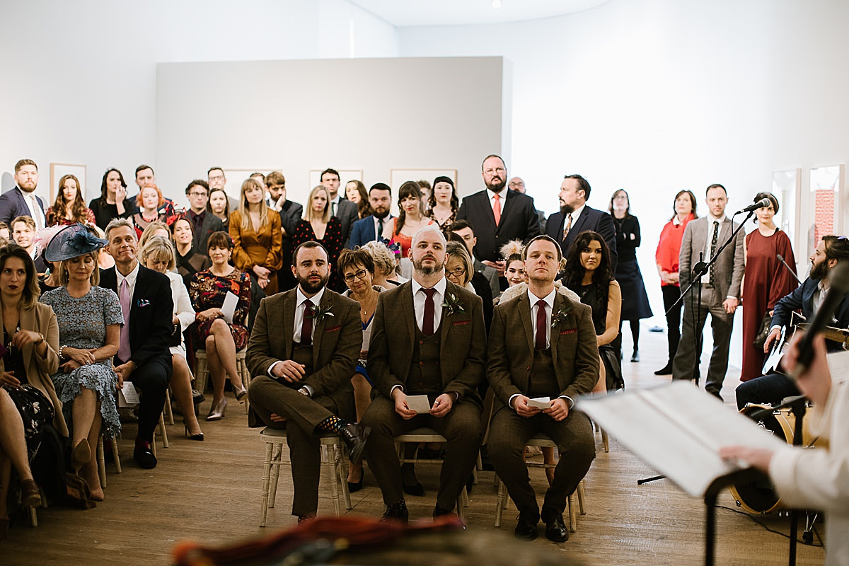 Glucksman gallery wedding-Cork 66