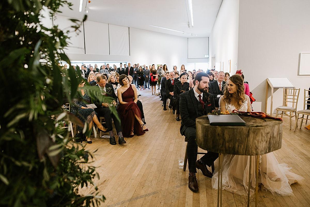 Glucksman gallery wedding-Cork 70