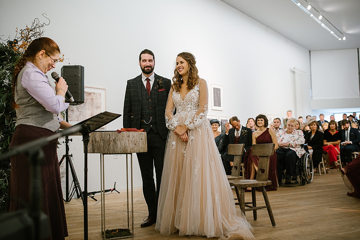 Glucksman gallery wedding-Cork 72