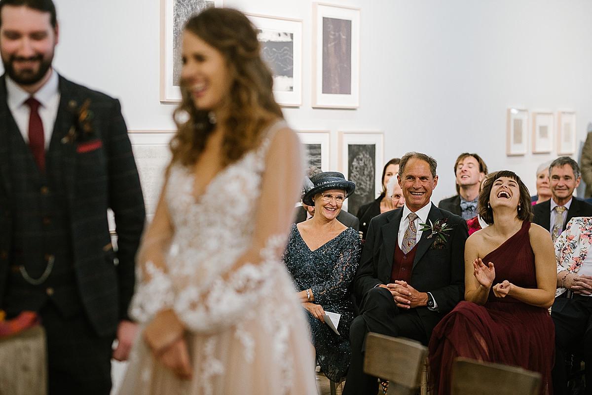 Glucksman gallery wedding-Cork 73