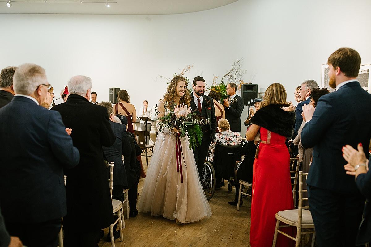 Glucksman gallery wedding-Cork 89