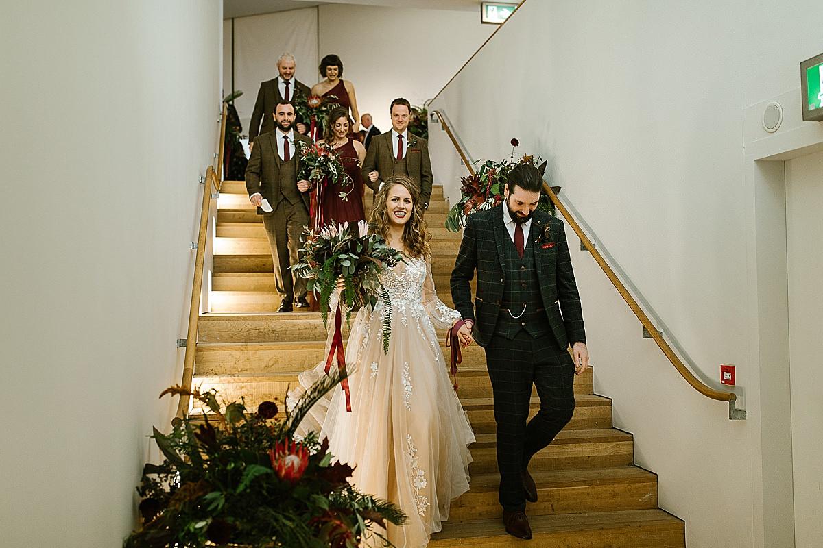 Glucksman gallery wedding-Cork 90