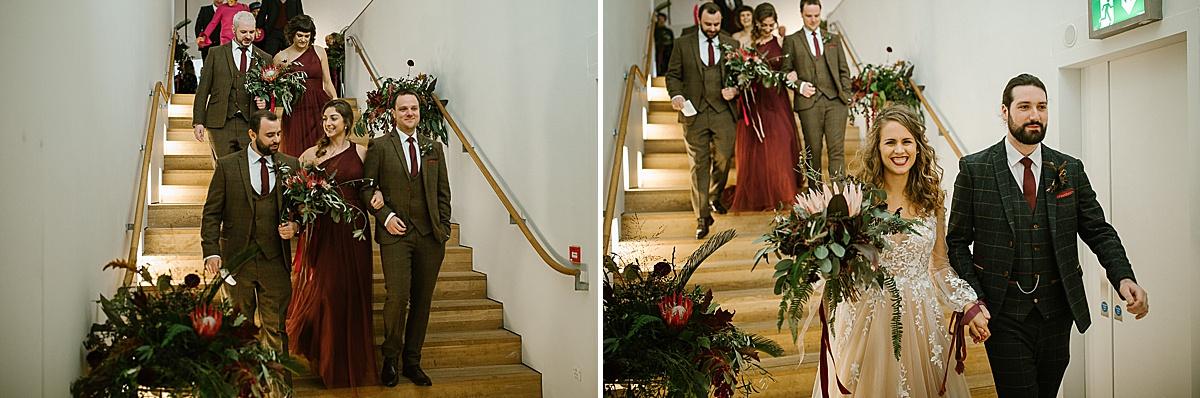 Glucksman gallery wedding-Cork 91