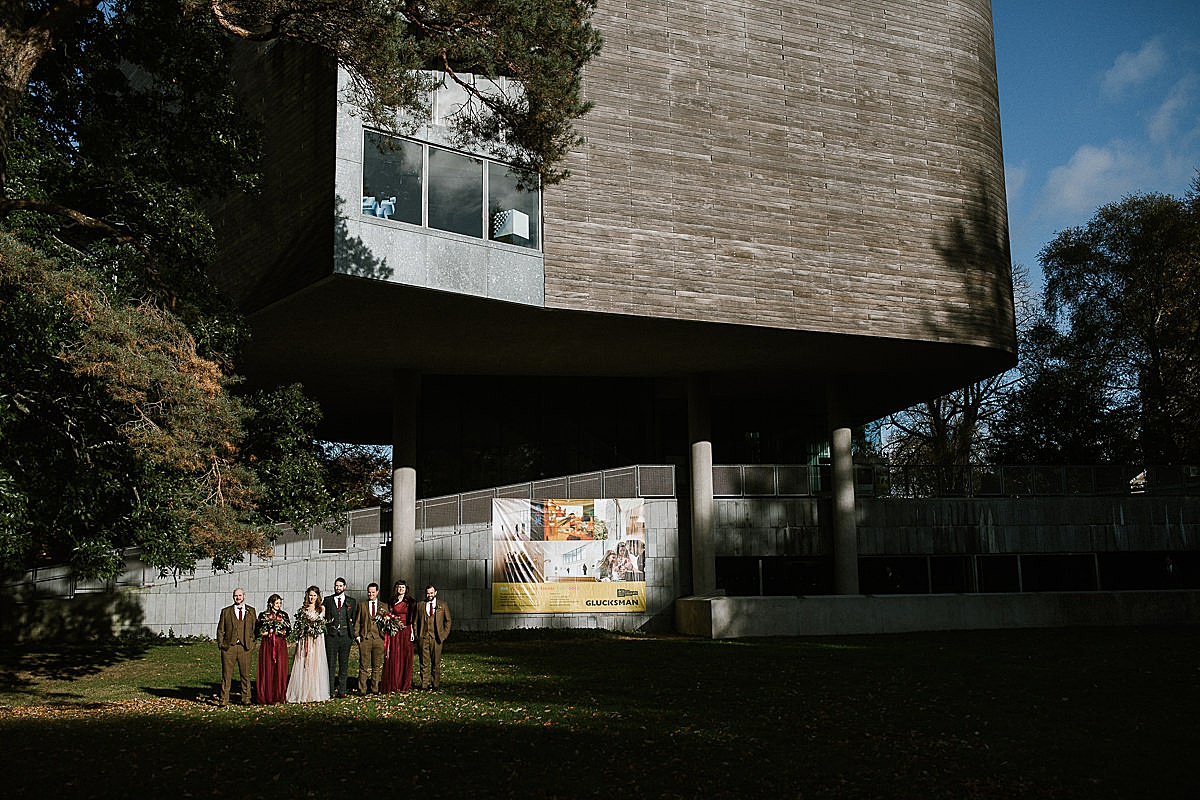 Glucksman gallery wedding-Cork 111