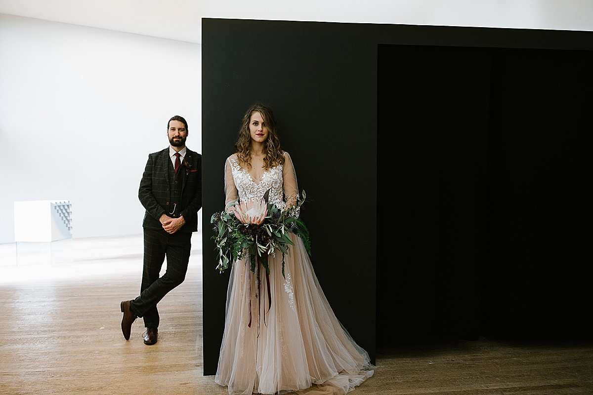 Glucksman gallery wedding-Cork 123