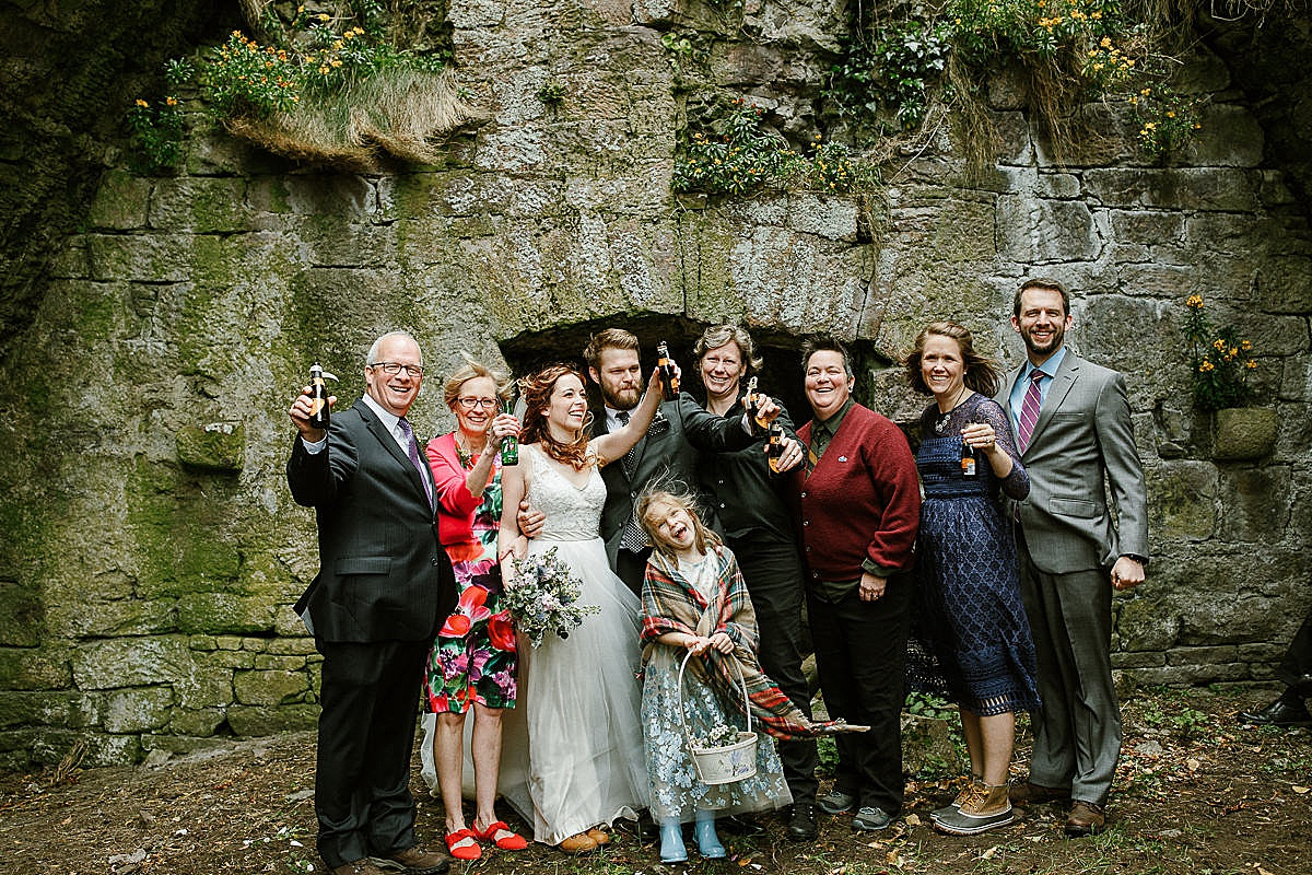 Intimate wedding Ireland 42